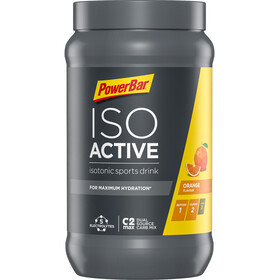 PowerBar Isoactive Isotonic Sports Drink Bøtte 600g, Orange
